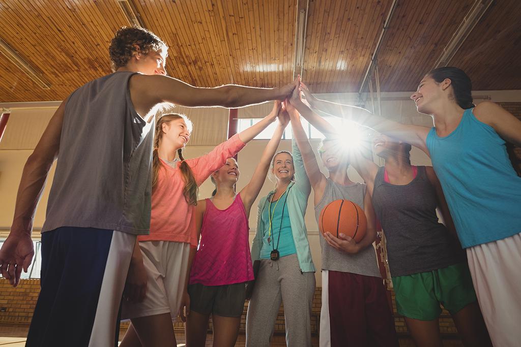 basketball drill team building