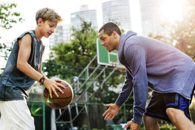 basketball fast break